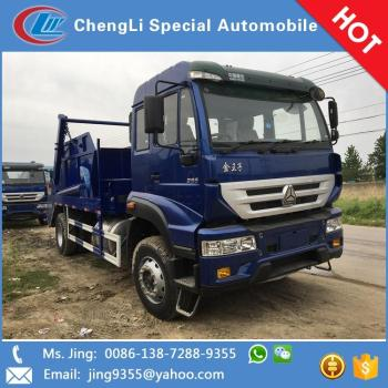 New style 4x2 heavy duty 10m3 hydraulic lifting garbage trucks sale in Namibia