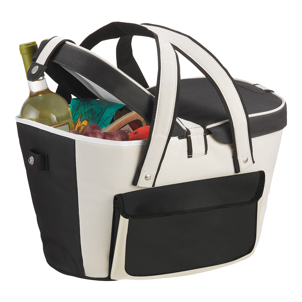 Picnic Basket Style Cooler (24 can)