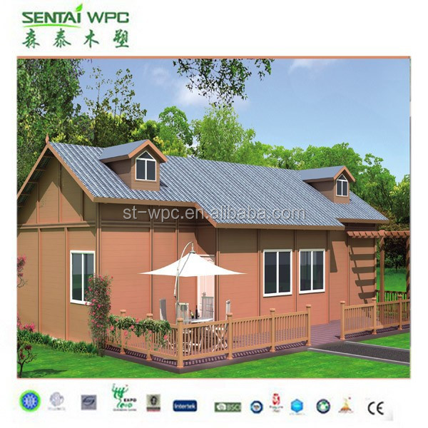 wpc low carbon waterproof garden shed