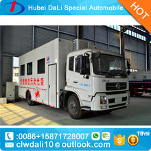 dongfeng Medical bus / Blood donator vehicle blood collecting truck