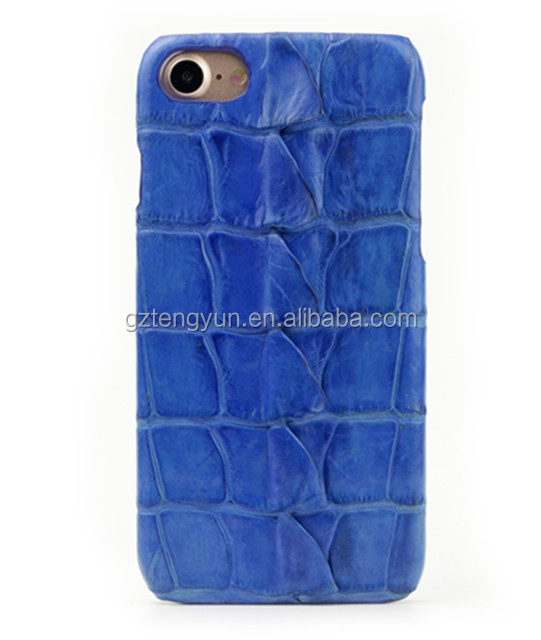 Mobile Cell Phone Case For iPhone 6/6Plus Genuine Crocodile Leather Case Cover