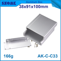 china wholesale 38*91*100mm small favorites compare aluminum enclosure metal electrical boxes