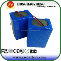 4S6P 12V 8400mAh 18650 LiFePo4 rechargeable Battery Packs