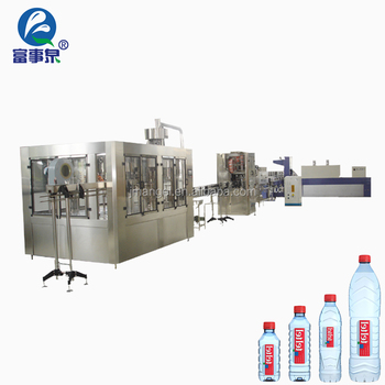 Trade Assurance automatic washing-filling-capping mineral water packing machine