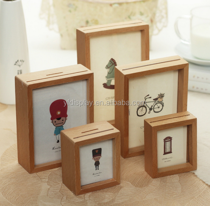 Detachable Wood Picture Frame With Logo