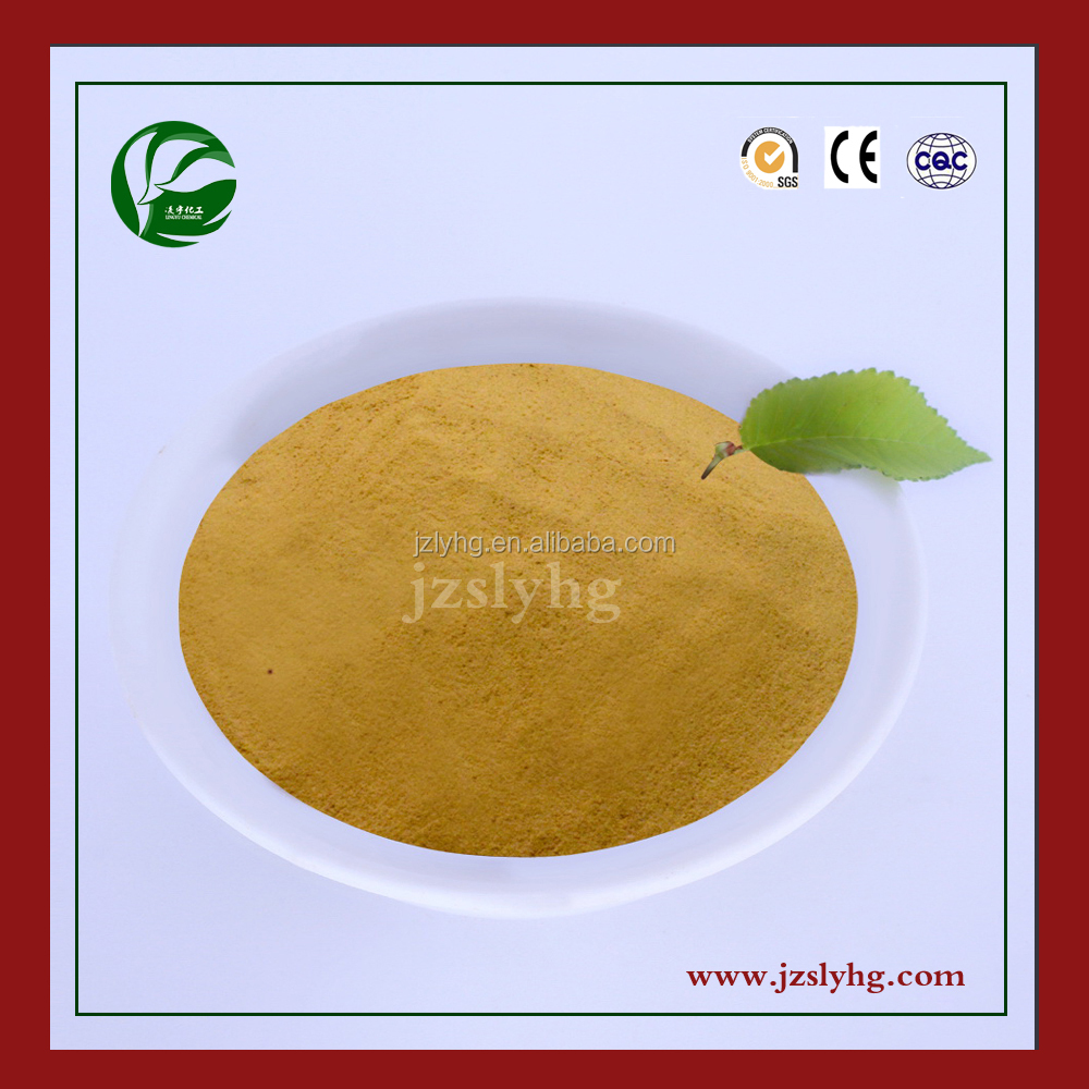 Supplier lignin yellow powder concrete admixture/concrete bonding agent calcium lignosulphonate