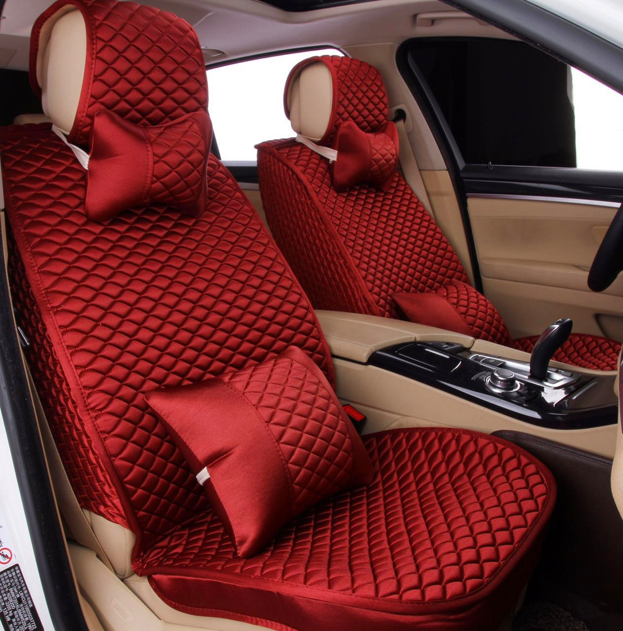 Car seat cushion, silk material, Full surround,Four seasons general purpose, suitable for most of the models,