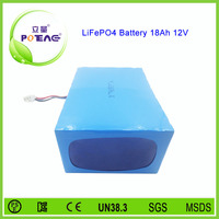 12v 18ah 26650 deep cycle lifepo4 lithium battery for electric wheelchair