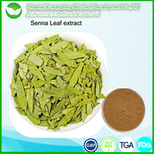 Factory price high quality organic Senna Leaf extract powder/Senna Extract