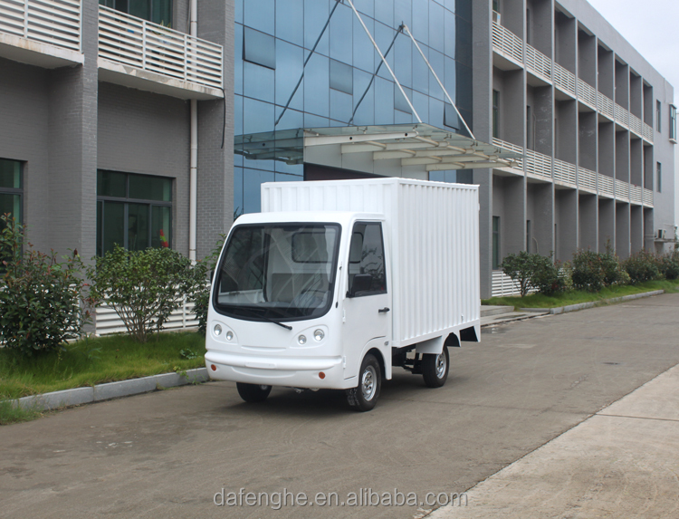 price electric large cargo van for sale