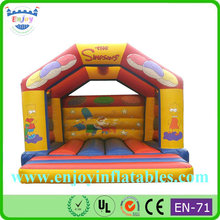 kids cartoon Simpsons Castle with Built In Rain Cover, Simpsons Open Air Castle, The Simpsons Bouncy Castle
