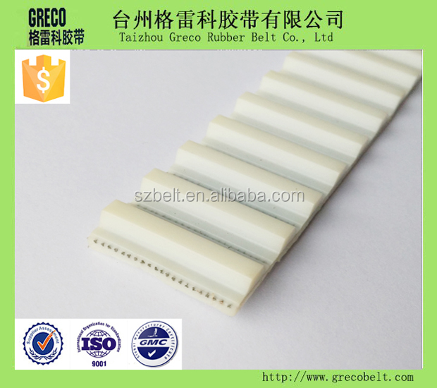 PU AT20 timing belt for automatic sliding door belt weatherstrip