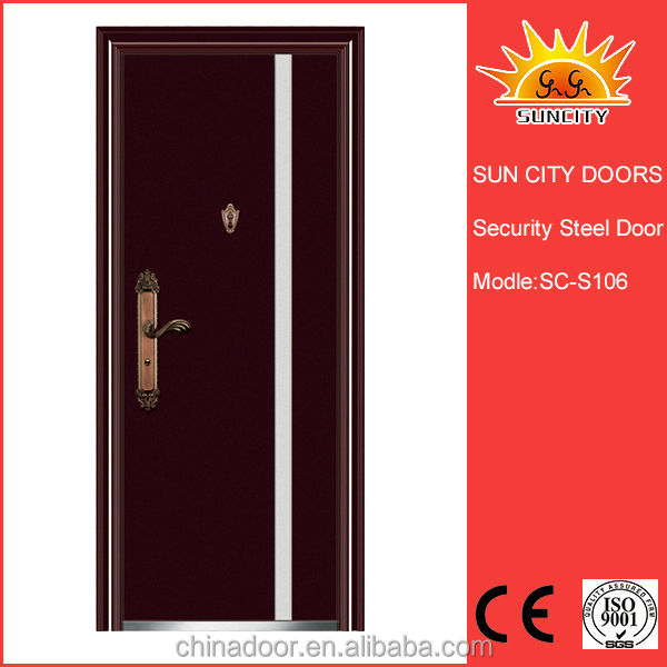 Russia style steel doors cheapest price