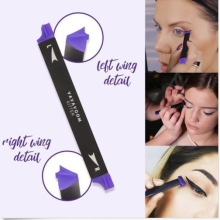 Waterproof easy makeup angle brush cat Eye Wing Eyeliner Stamp set