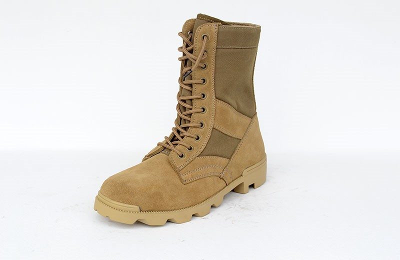 Loveslf tactical training assault boots desert boots suede cow leather boots