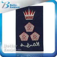 Embroidered Fabric Epaulette