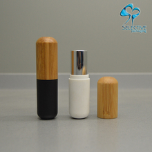 wooden/bamboo empty lipstick tubes natural