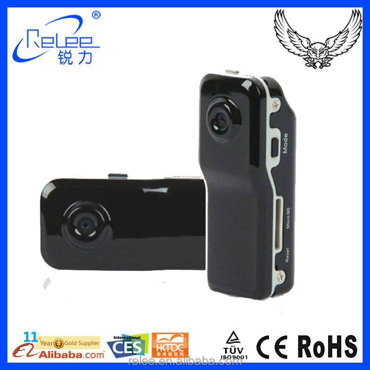New 720*480 waterproof video output Mini DV MD80 Camera manual