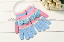 beauty acrylic magic knitted glove/gloves
