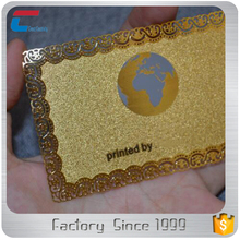 High Quality Custom Printed Gold Metal Tokens