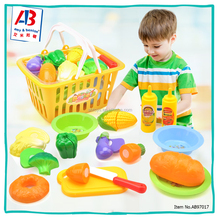 China Supplier High Quality Cutting Food Children Play Kitchen