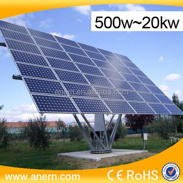 Anern Quality Off-grid Home Solar System 2000W Suitable For Area With Power Interruption