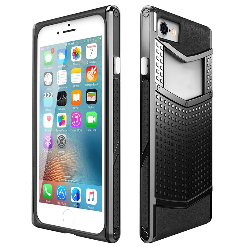 New Arrive Protective Heavy duty <strong>2</strong> in 1 TPU PC hybrid Armour Case Cover for IPhone 7 --------- Laudtec