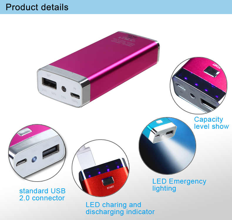 Export certificated portable power bank, Alibaba hotsell powerbank wholesale