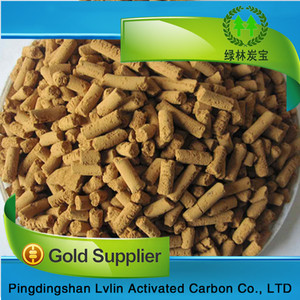 high effective desulfurizering agent/best price iron oxide desulfurizer