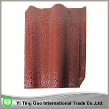 rose red roof tile shingle for india market