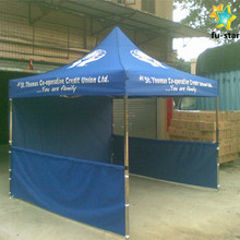 PN cheap custom printed canopy ,high quality folding gazebo event tents ,commercial advertising cheap tent with half wall