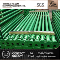 Building material shoring adjustable steel pole support post for formwork