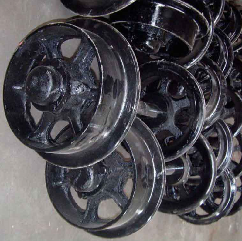 500mm Gauge Mining <strong>Wheel</strong> Set with <strong>Axle</strong>