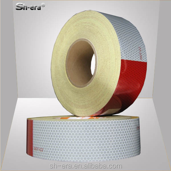 Reflective adhesive tape for store glass
