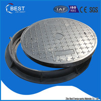 EN124 B125 China supplier jrc 12 carriageway manhole cover and frame