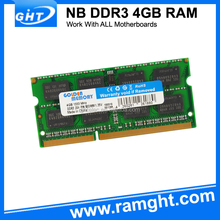 Computer bulk sale 1333mhz 1.5v ddr3 ram 4gb laptop