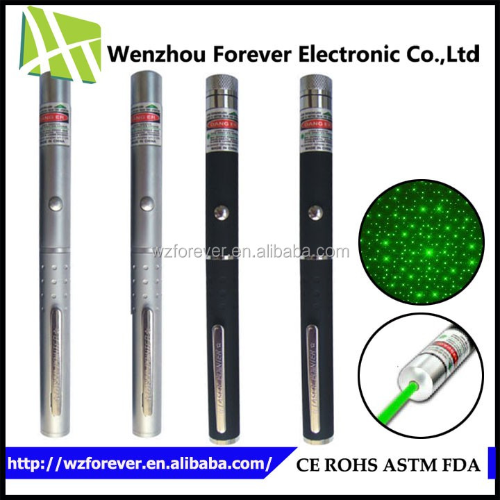 2016 Hot Selling Heavy Brass Long Distance Green 10W Laser Pointer
