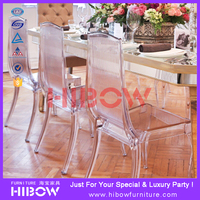 china luxury resin king chair for banquet hall