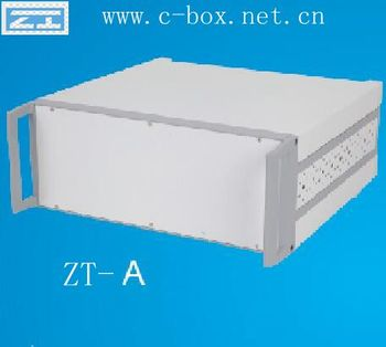 "ZT-A 2U 19"" rack-mount chassis on Desktop industrial control, communications, electronics, test systems, network control centers"