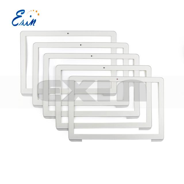 Original new LCD display front frame bezel for macbook 13.3'' A1342 front bezel glass 2009 2010