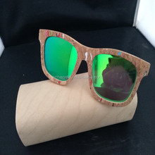 Cork bamboo sunglasses shell wood sunglasses stone wood bamboo sunglasses