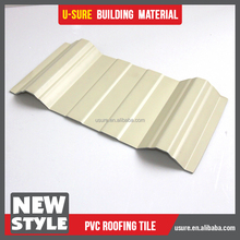 building materials heat resistant upvc roof tile cheap hard plastic sheet