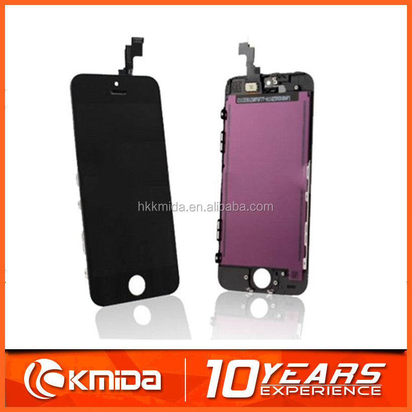 Low price for iphone 5s lcd screen replacement,for iphone5 lcd factory sale in black white glod