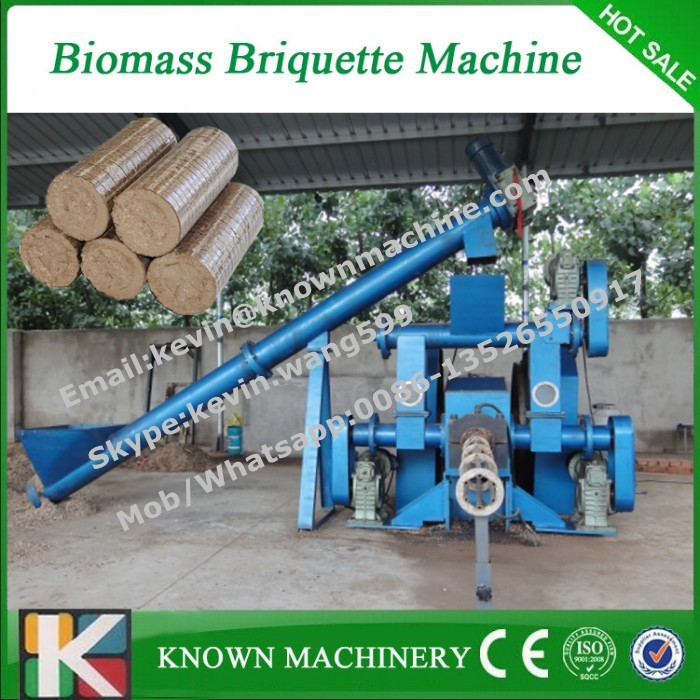 CE approved briquette machine wood sawdust, biomass briquette machine for sale