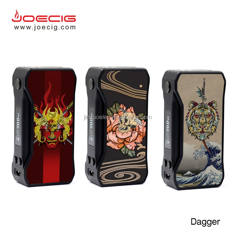 New designed 80w dagger mod Temperature Control Dagger 80w power mod in stock