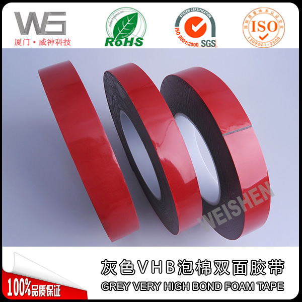Pressure Sensitive Acrylic Adhesive VHB Foam Tape