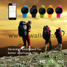 New OLED Display Bluetooth 4.0 Waterproof Smart Bracelet, Support Pedometer / Sleep Monitoring / Call Reminder / Clock / Remote