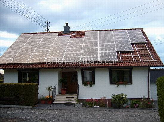 Foshan factory direct supply green energy off grid home solar power system 5kw