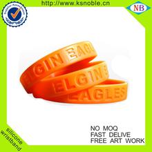 2016 Customized sport event silicone bracelet wristbands