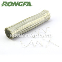 Strong iron wire inside packing twist tie for gift bags closure and decoration